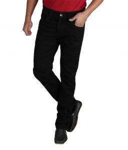 Masterly Weft Be Trendy Black Jeans For Men