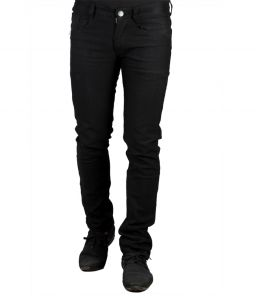 Jeans (Men's) - Masterly Weft Black Cotton Blend Men d-jenh-1