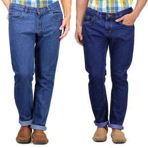 Jeans (Men's) - Masterly Weft Be Trendy Jeans For Men