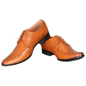 Firemark Tan Corporate Formal Office Shoes(firemark_02_beige)