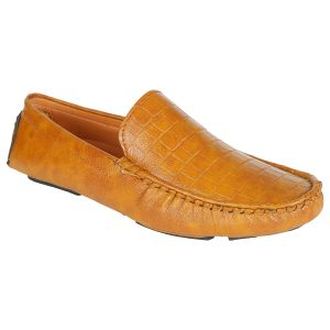 Firemark Casual Loafer Corporate Slip On Summer Shoes ( Code - Firemark_loafer_tan_04 )