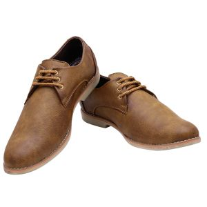 Firemark Tan Casual Shoes For Men (fr-3101-brn)