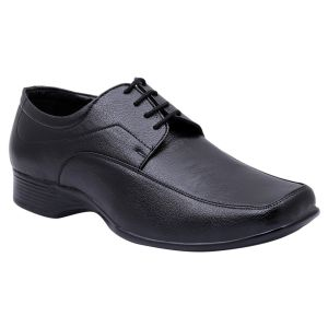 Formal Shoes (Men's) - Firemark Corporate Formal Office Shoes ( Code - FR-802-Blk )