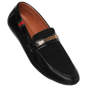 Firemark Corporate Formal Office Shoes ( Code - Fr_5110_blk )