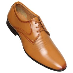 Brogues (Men's) - Firemark Corporate Formal Office Shoes ( Code - FR_608_Teek )