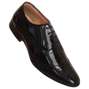 Firemark Corporate Formal Office Shoes ( Code - Fr_878_blk_shn )