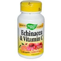 Natures Way Echinacea With Vitamin C 100 Capsules