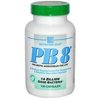Nutrition Now, Pb8, Pro-biotic Acidophilus For Life, 120 Capsules