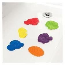 Safety 1st Secure Bath Grip Splash Pals - 6 Pack
