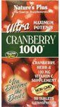"Nature""s Plus Ultra Cranberry -- 1000 Mg - 90 Tablets"