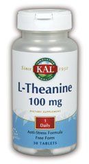 Kal- L-theanine 100mg - 30 Tablet