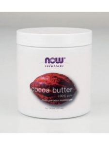 Now Foods Cocoa Butter, 7 Oz