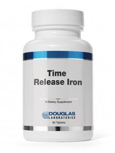 Douglas Lab Timed Release Iron 90 Tablets