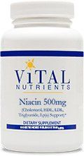 Vital Nutrients - Niacin 500mg Extended Release 90t [health And Beauty]