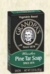 Soaps - Pine Tar Soap Grandpa Soap Company 3.25 oz. Bar