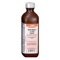 Multi Delyn Liquid With Iron For Vitamin Deficiency - 16 Oz