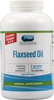 Vitacost Flaxseed Oil -- 2,000 Mg Per Serving - 300 Softgels
