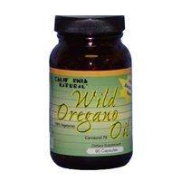 California Natural Wild Oregano Oil - 90 Capsules, 2 Pack (image May Vary)