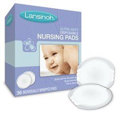 Lansinoh Ultra Soft Disposable Nursing Pads 36 Ct Quantity Of 5