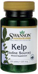 Kelp (iodine Source) 225 Mcg 250 Tabs