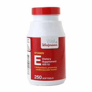 Walgreens Vitamin E 400 Iu Dietary Supplement Softgels, 250 Ea