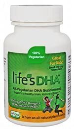 "Martek Life""s Dha Omega-3 Dha 100mg 90 All-vegetarian Softgels Kids"