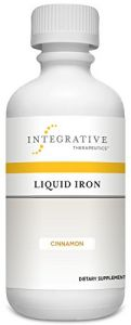 Integrative Therapeutics Liquid Iron, Cinnamon, 6 Fl. Oz.
