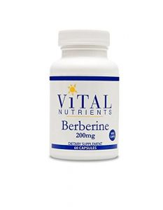 Vital Nutrients Berberine Veg Supplement, 60 Vegetarian Capsules