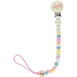 Bink Link Pacifier Attacher By Fruitabees In Candy Necklace