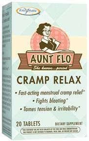 Aunt Flo Cramp Relax Enzymatic Therapy Inc. 20 Tabs
