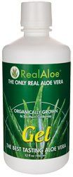 Real Aloe Inc Aloe Vera Gel -- 32 Fl Oz