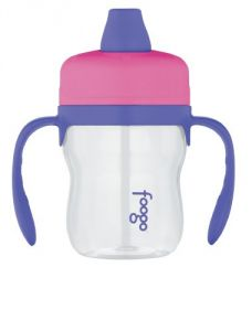 Thermos Foogo Phases Sippy Cup, Pink-purple, 8 Ounce