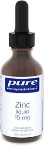 Pure Encapsulations - Zinc Liquid 15 Mg 120 Ml
