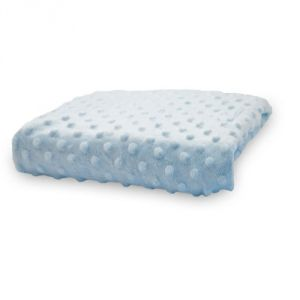 Rumble Tuff Minky Dot Changing Pad Cover, Blue,compact