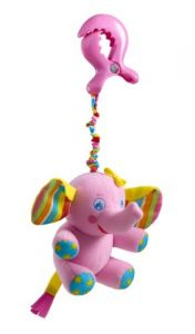 Tiny Love Tiny Smart Rattle, Pink Elephant