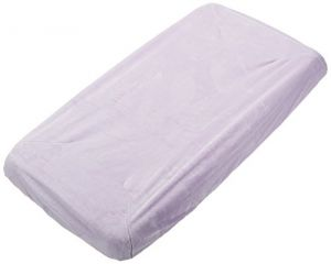 Rumble Tuff Silky Minky Changing Pad Cover, Lavender,compact