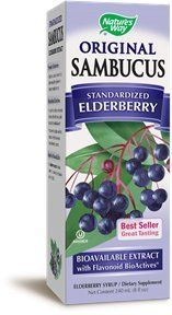 "Nature""s Way Sambucus Original Syrup -- 8 Fl Oz"