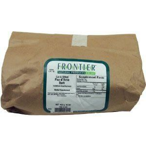 "Frontier Natural Products Pau D""arco Bark Cut And Sifted -- 16 Oz"