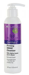 Derma E Firming Cleanser With Dmae, Alpha Lipoic, C-ester, 6-ounce Bottle