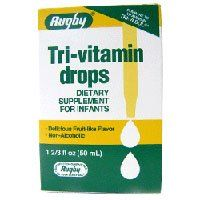 Tri-vitamin Drops, Dietary Supplement For Infants - 50 Ml