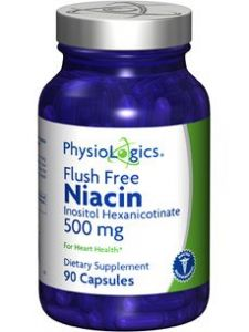 Physiologics - Flush Free Niacin 500 Mg 90 Caps [health And Beauty]
