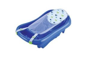 The First Years Infant To Toddler Tub With Sling, Blue Color Blue Newborn, Kid, Child, Childern, Infant, Baby
