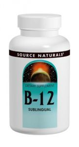 Source Naturals B-12, 2000mcg, 100 Tablets (pack Of 3)