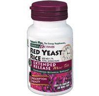 "Nature""s Plus Red Yeast Rice Extended Release Mini-tabs - 60 Tabs"