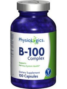 Physiologics - B-100 Complex 100 Caps [health And Beauty]