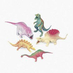One Dozen 12 Toy Dinosaur Figures
