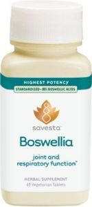 Savesta Boswellia - 3 Bottles Of 60 Tablets Each With Free Shipping