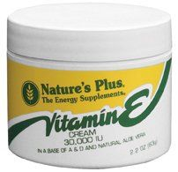 "Vitamin E Cream 30,000 Iu Nature""s Plus 2.2 Oz Cream"