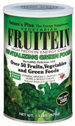 "Nature""s Plus - Fruitein Green Foods, 1.3 Lb Powder"