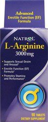 Natrol L-arginine -- 3000 Mg - 90 Tablets
